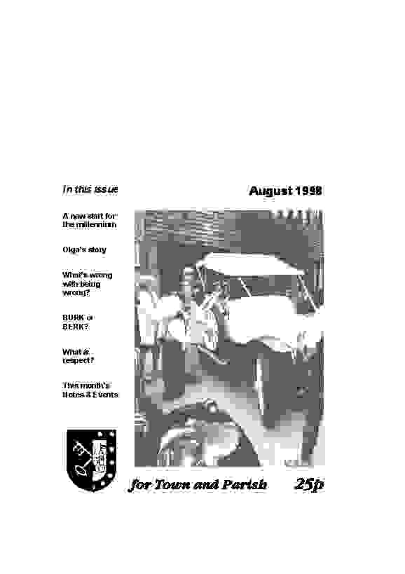August 1998 cover