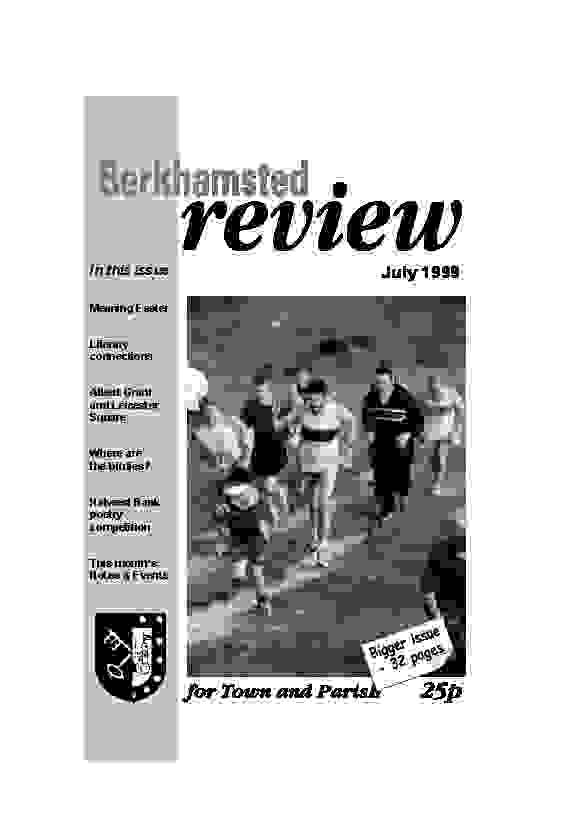 July 1999 cover