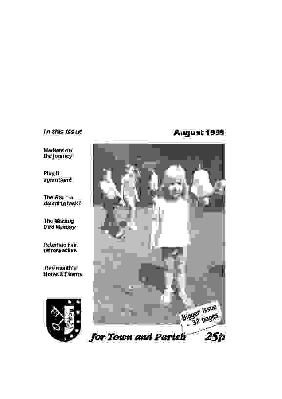 August 1999 cover