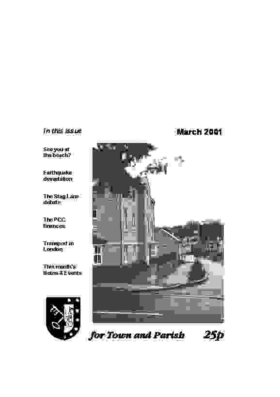 March 2001 cover