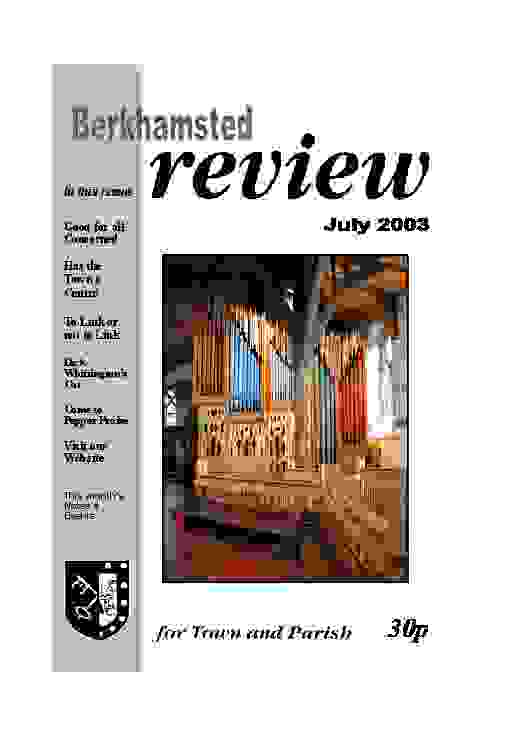 July 2003 cover