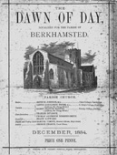Cover of Dawn of the Day, December 1884