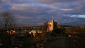 View of St Peter's Church on the Berkhamsted skyline