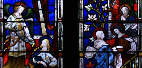 Annunciation window 1874