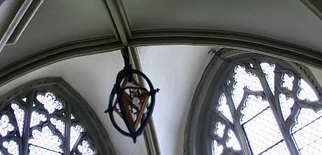 Lady chapel window